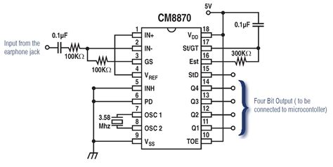 pin configuration  breadboard mm stereo audio jack