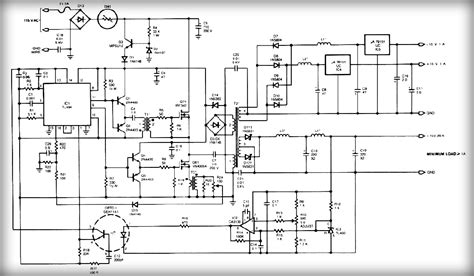 circuit switching diagram gt circuits gt output switching power supply