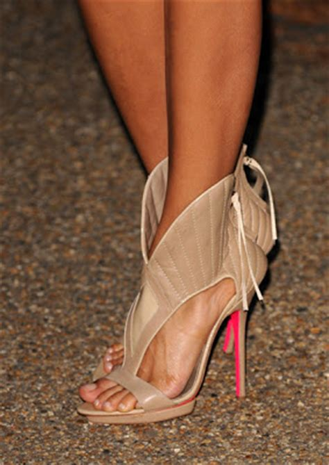 In Thandie Newtons Closet Mcqueen Pumps by The House Of Fabulous Best Shoes Of 2009