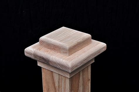 Interior Newel Post Caps by Custom Stair Parts The Finish Nail