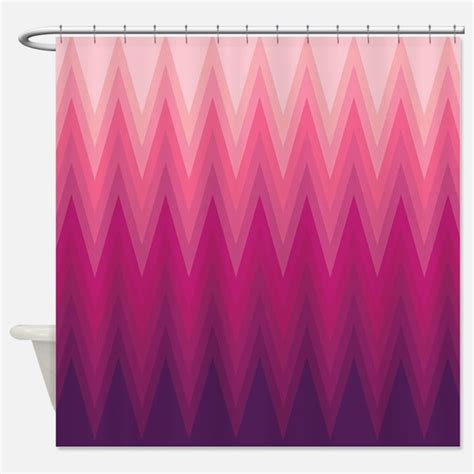 pink ombre curtains ombre chevron shower curtains ombre chevron fabric