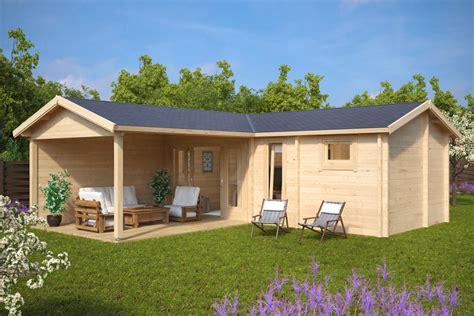 gartenhaus mit sauna hansa b 22m2 70mm 3x7 hansagarten24