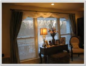 Window Treatments For Bay Windows In Dining Rooms home office window treatment ideas for living room bay
