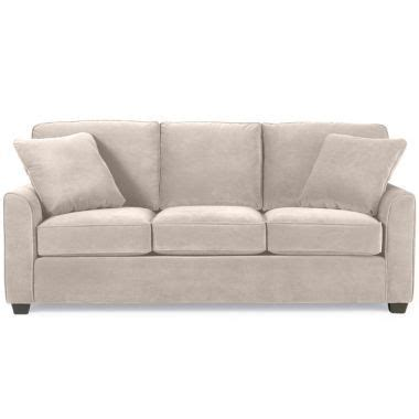 Sofas At Jcpenney by Fabric Possibilities Sharkfin Arm Sofa Found At Jcpenney