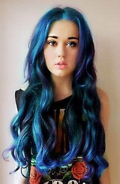 same haircut different color hair color thehairstylercom different hair colors on pinterest wavy perm blue