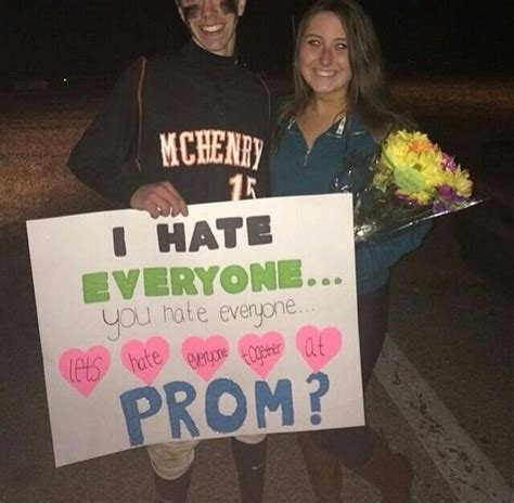 10 Ways To Get A Prom Date by Prom Proposals Are On A Whole New Level These Days 20