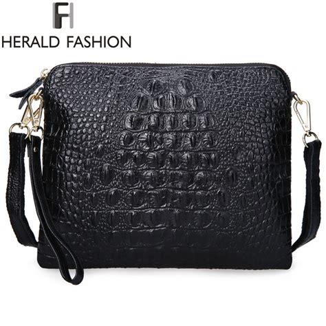 Bag Elegan crocodile split leather bag fashion handbag