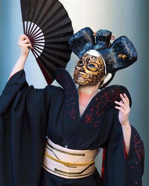 Geisha Mask ghost in the shell robot geisha with mask wip 171 adafruit