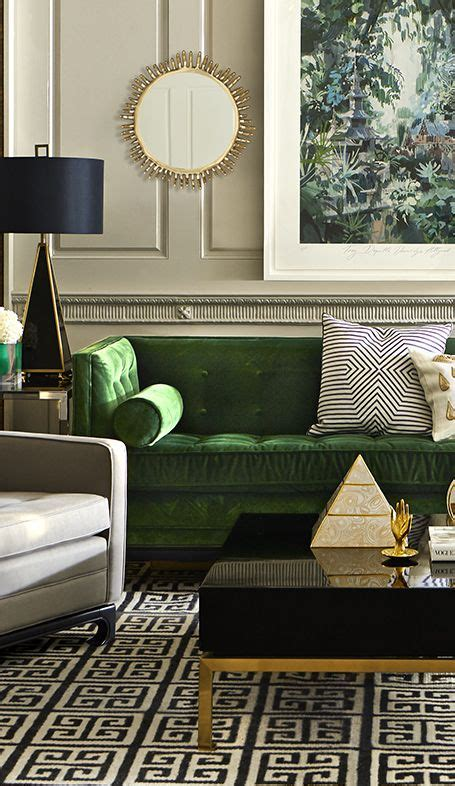 Best 25 Green Sofa Ideas On Emerald Green