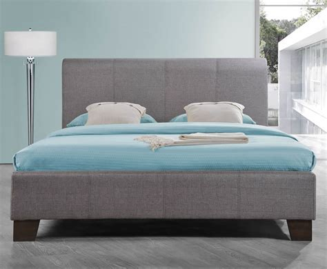 grey upholstered bed reynolds grey upholstered bed 4ft 4ft 6 5ft uk delivery