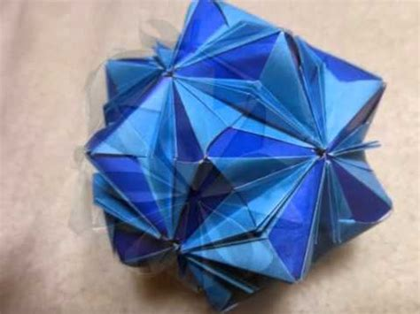 Origami Glove - 折り紙 origami flower glove