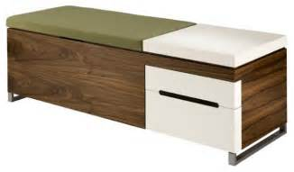 Modern Storage Bench Herman Miller Cognita Bench Modern Accent And Storage Benches Minneapolis By Dot