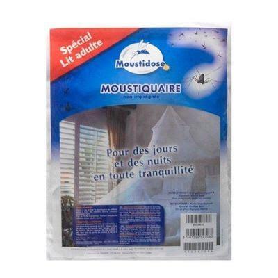 Moustiquaire Lit Adulte by Moustidose Moustiquaire Non Impr 233 Gn 233 E Lit Adulte Pas Cher