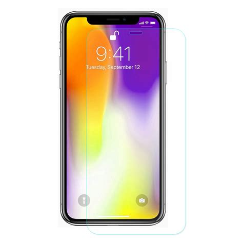 enkay tempered glass screen protector for iphone xs max 0 26mm 2 5d curved edge alexnld