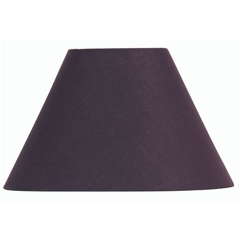 20 inch l shade plum cotton coolie l shade 20 inch s501 20pl oaks