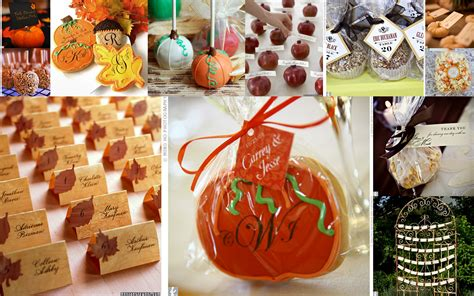 Wedding Favors For Fall by Fall Wedding Inspiration Deborah Sheeran Weddings Of