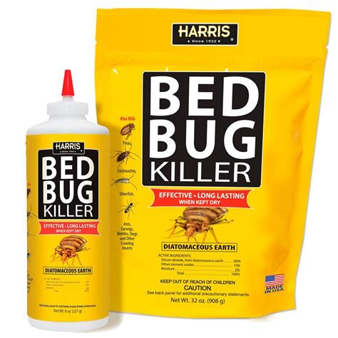 harris bed bug spray reviews harris 8 oz and 32 oz bed bug killer refill value pack
