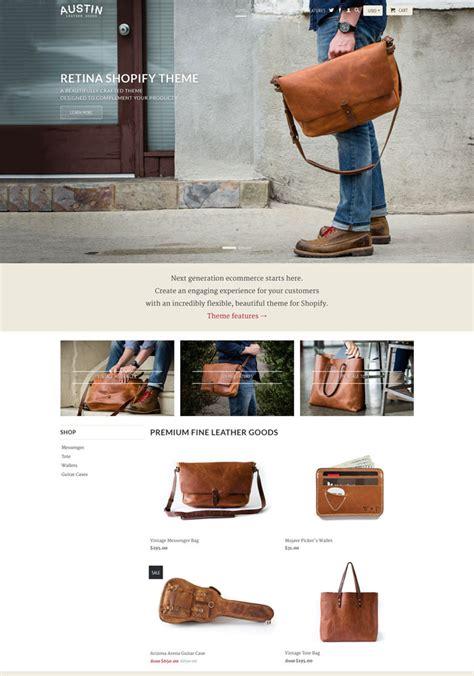 shopify themes retina ecommerce shopify fashion themes