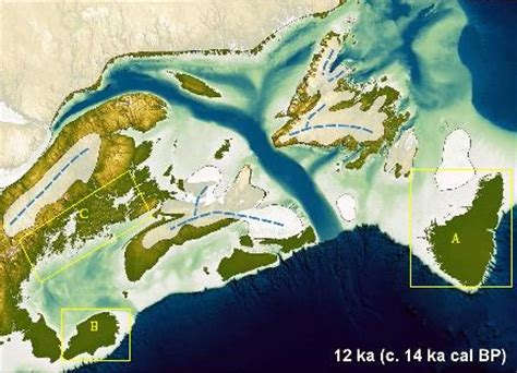 map of america 12000 years ago archy