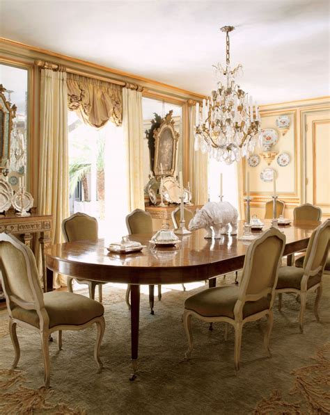 Traditional Dining Room Ideas Traditional Dining Room By Jorge Elias By Architectural Digest Ad Designfile Home Decorating