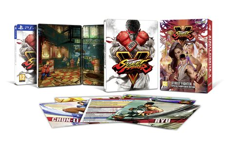 Bd Ps4 Fighter5 Spesial Shoryuken Edition fighter v gets asia exclusive limited edition
