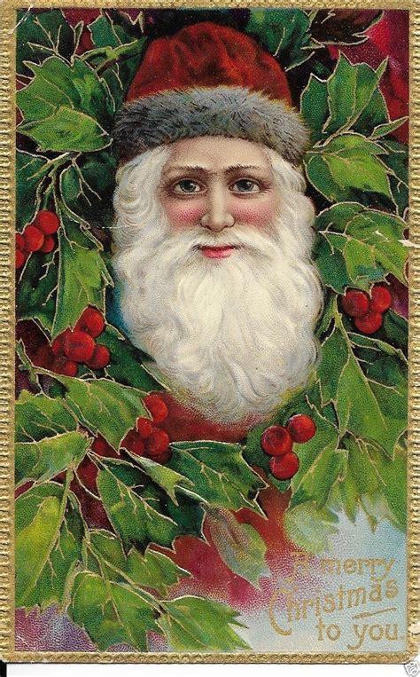 vintage santa claus images  pinterest