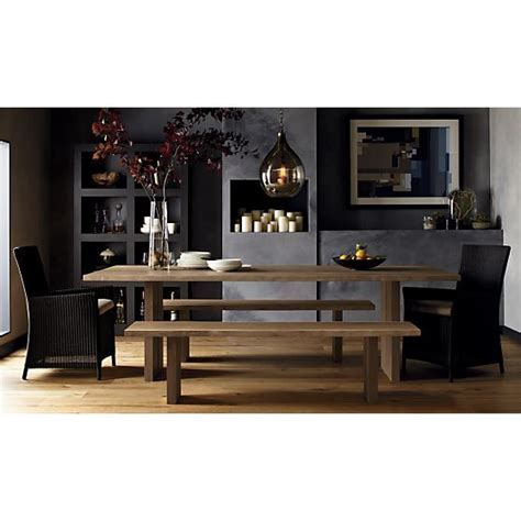 Dining Room Tables Crate And Barrel by Dining Table Crate Barrel Dakota Dining Table