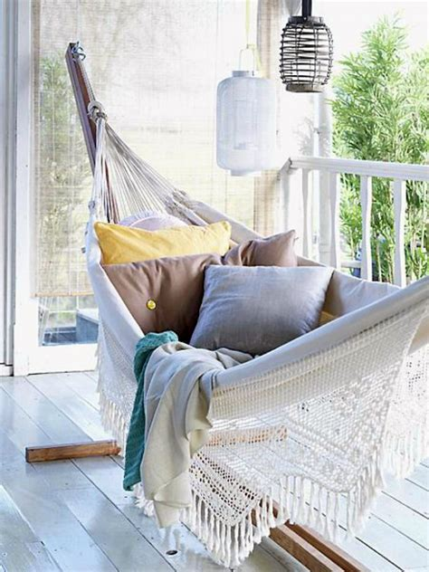 Balcony Hammock 10 inspirational ideas how to make your own balcony paradise top inspirations