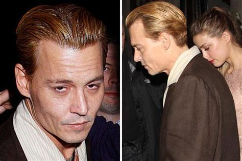 johnny depp wears a wig in public new photo shows johnny depp looks worse for wear and shows off bizarre new