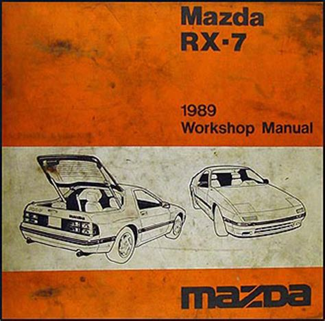 hayes auto repair manual 1989 mazda rx 7 electronic throttle control 1989 mazda rx 7 repair shop manual original