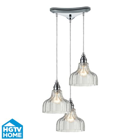 Three Light Pendant Elk Lighting 46018 3 Danica 3 Light Multi Pendant Ceiling