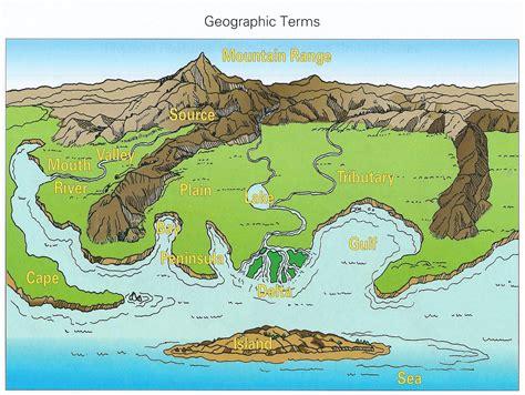 usa landform map tmjackson map skills