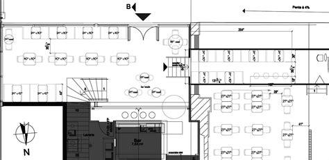 bloc autocad cuisine exemple de plan de restaurant autocad guides recettes