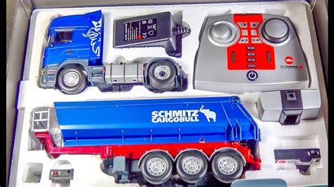 Mobil Remote R C Randa Max rc truck scania gets unboxed loaded for the time