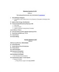 strategy session template 12 strategy meeting agenda templates free sle