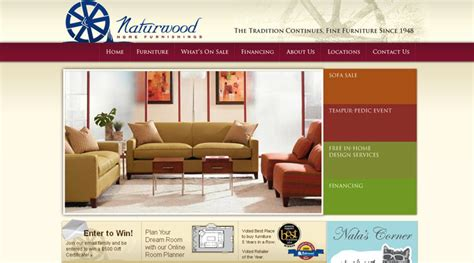 20 awesome furniture website designs inspiration web