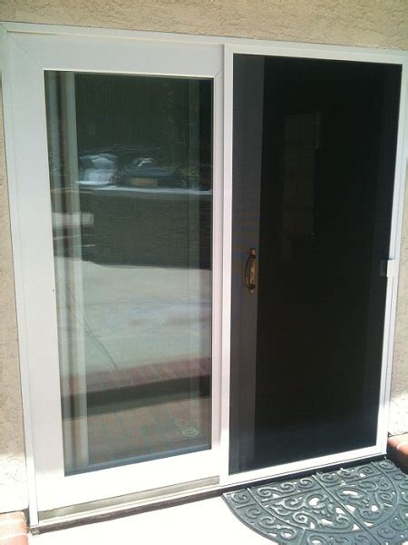 Door Screen Replacement by Sliding Screen Door Replacement Track Rollers And Aluminum