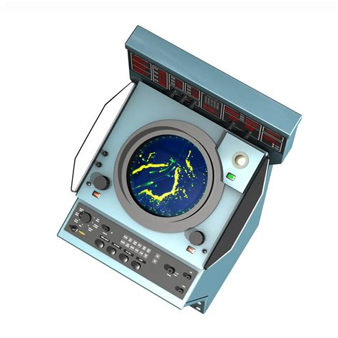 console 3d naval radar console 3d model electronics 3d models konsole
