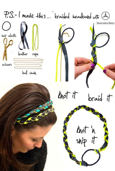 Handmade Headband Ideas - 25 easy crafts to make and sell diy ready