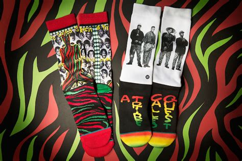 tribal quest tattoo stance socks release a tribe called quest line in honor of