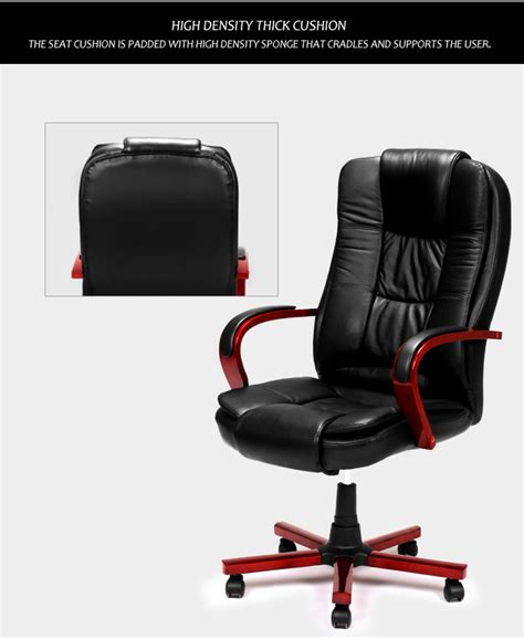Genuine Leather Executive Chair by Black Genuine Leather Rolling Executive Chair