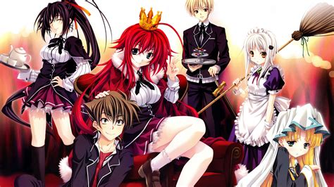 anime high school high school dxd full hd wallpaper and background image