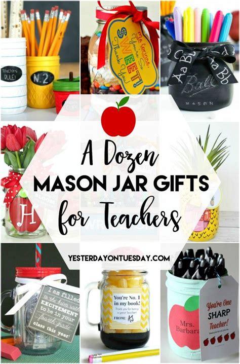 a dozen jar gifts for teachers great ideas to make