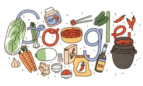 doodle daily mail what is kimchi doodle celebrates the korean dish