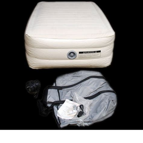 inflatable boat bed stearns coleman fill air adult size boat air mattress
