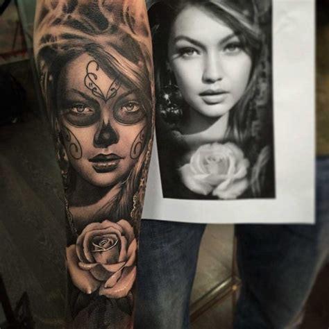 tattoo arm portraits chicano portrait tattoo sleeve best tattoo ideas gallery