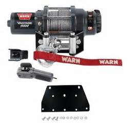 Honda Rancher Winch Warn 3000 Lb Winch And Mount For Honda Trx 350 Rancher 00