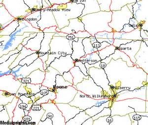 west carolina map west jefferson vacation rentals hotels weather map and