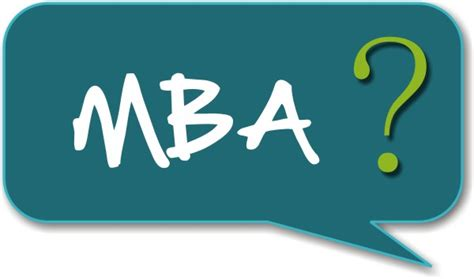 An Mba by I M Attending School I E Mba Will That Hurt My