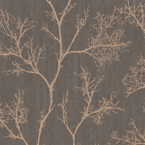 grey wallpaper with trees graham brown brown gold icy trees wallpaper tree